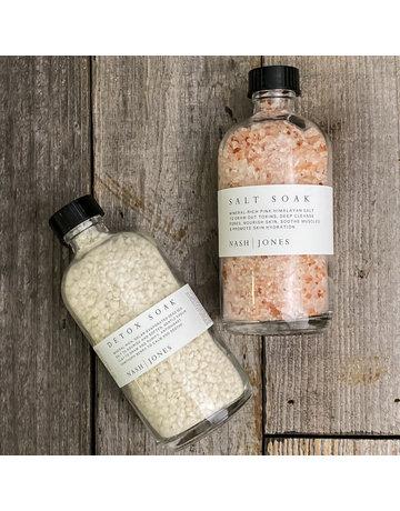 Columbine Home Himalayan Salt Soak and Detox Soak Set