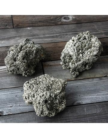 Columbine Home Chispa Pyrite Cluster (Large)