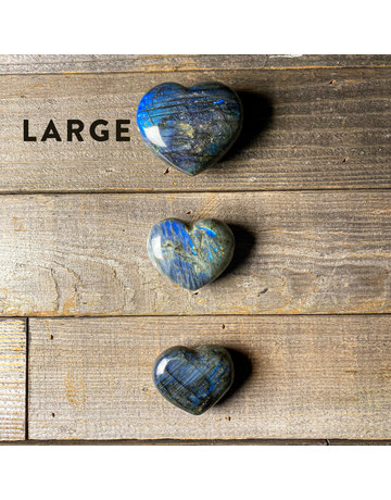 Columbine Home Labradorite Heart L