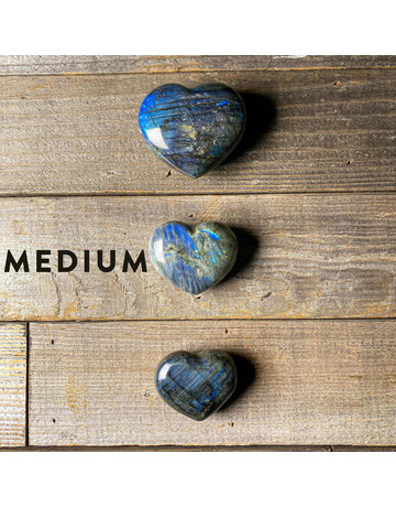 Columbine Home Labradorite Heart M