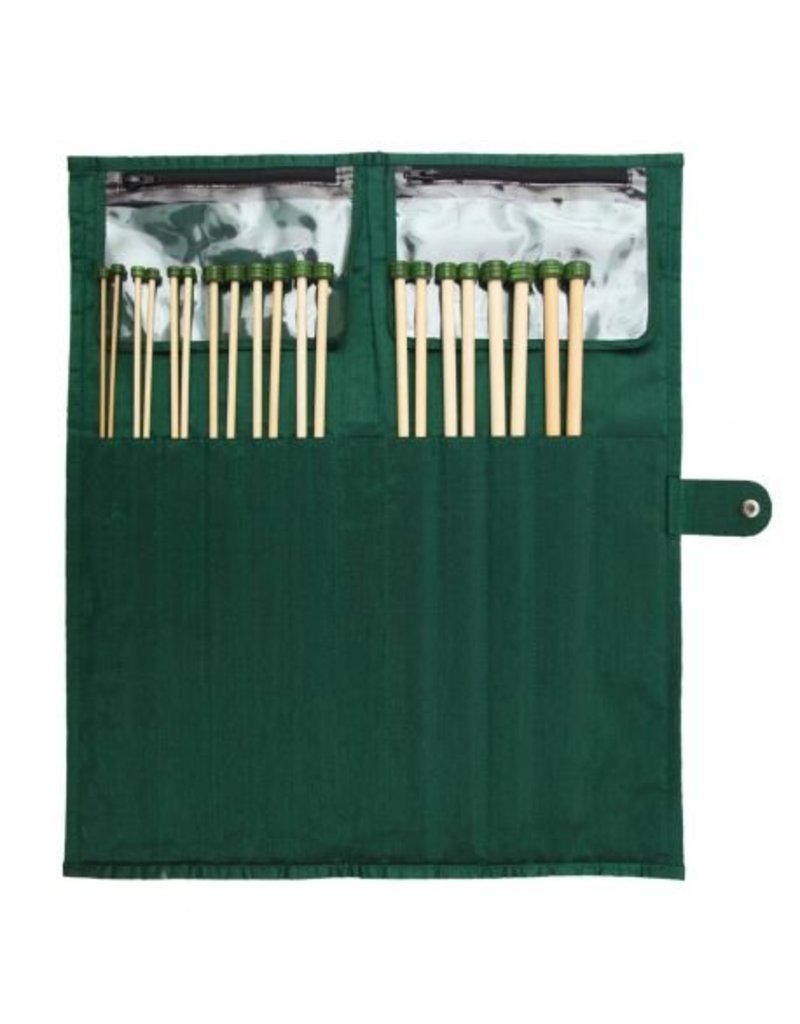 "Knitters Pride KP Bamboo Single Point 10"" (25cm) - Set of 10 - Free Shipping"