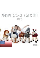 Haakpret HAK Animal Stool Crochet Part 2