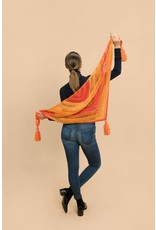 Master Knit Colore Tassel Shawl, Colore by Master Knit