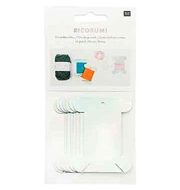 "Rico Design RD Ricorumi Winding Cards 2 1/8"" x 2 3/4"" Pack of 10"