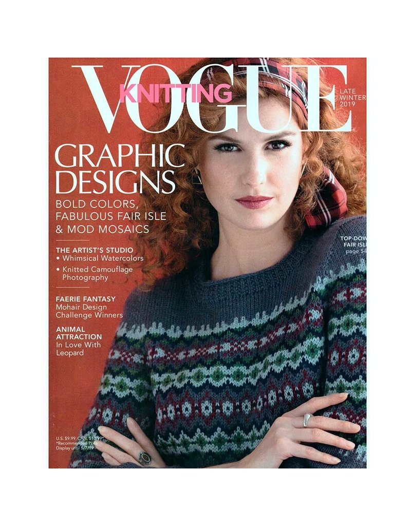 VK Vogue Knitting - Late Winter 2019