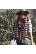 Lion Brand Color Pop Super Scarf, Crochet