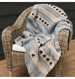 Lion Brand Dot to Dot Lapghan, Crochet