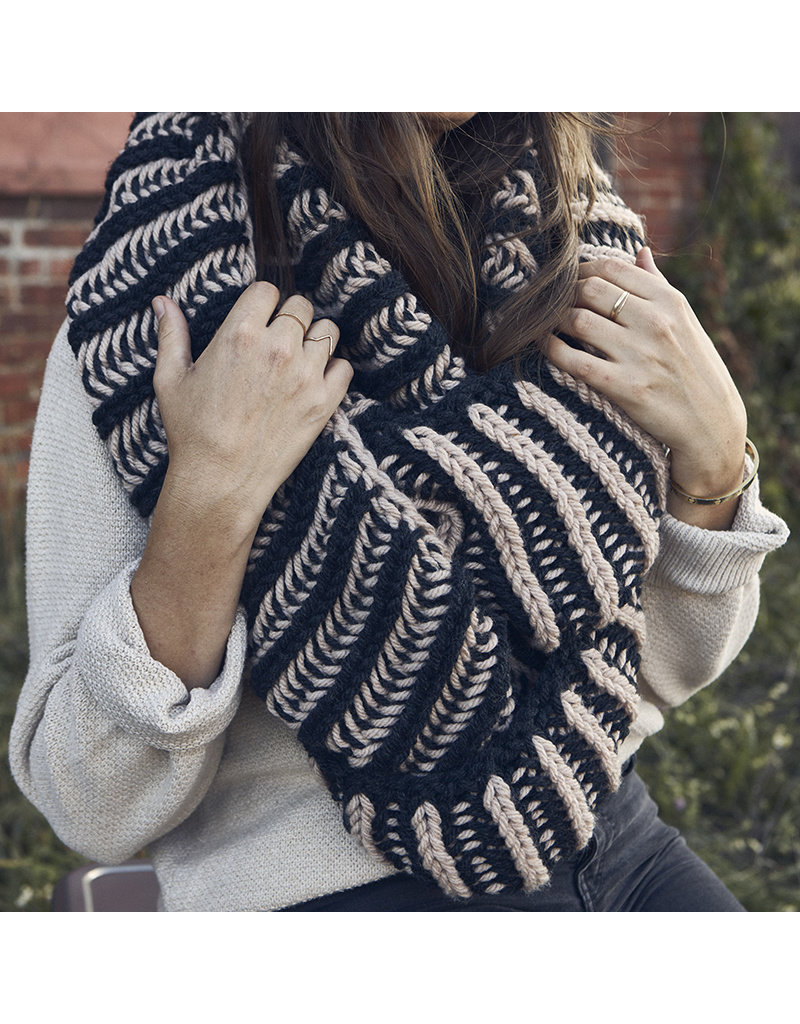 Lion Brand Illusionist Infinity Scarf, Knit