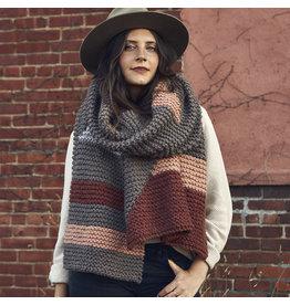 Lion Brand Level Up Blanket Scarf, Knit