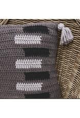 Lion Brand Sliding Doors Throw Pillow, Crochet