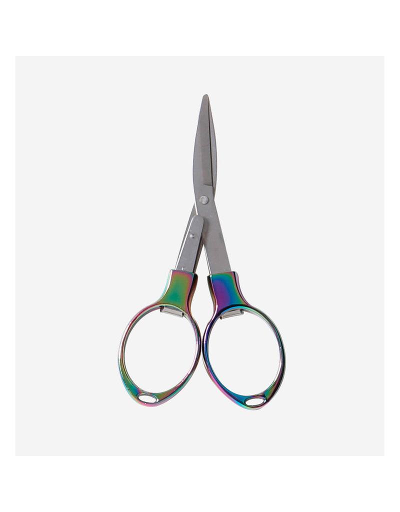 Knitters Pride KP Rainbow Folding Scissors 800657