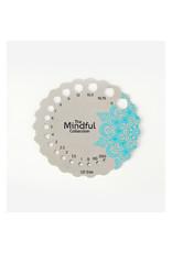 Knitters Pride KP Sterling Silver Plated Metal Needle Gauge 800652