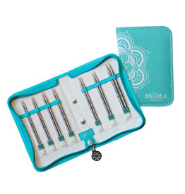 "Knitters Pride KP Mindful IC Needle Set 5"" BELIEVE - Set of 7   250303"