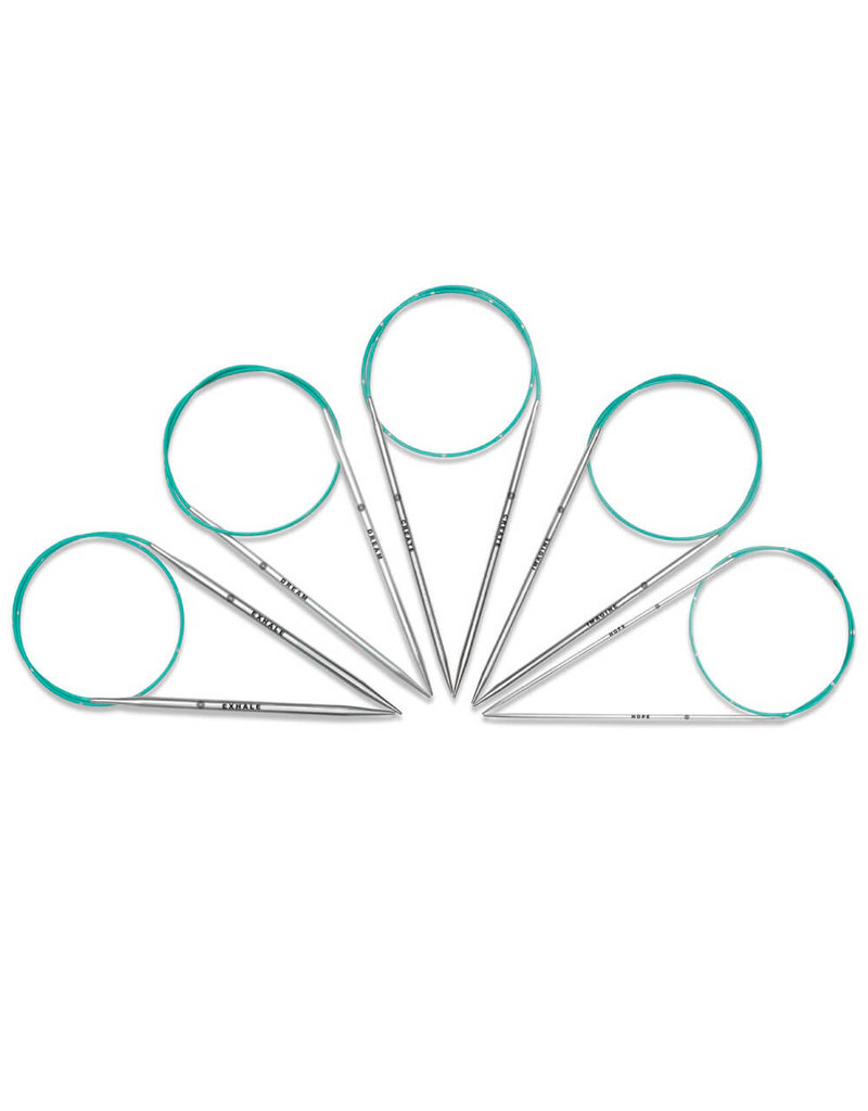 """Knitters Pride KP Mindful Lace Circular Needles - 32"""" (80cm)"""