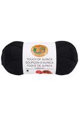 Lion Brand LB Touch Of Alpaca Bonus Bundle 153 - Black