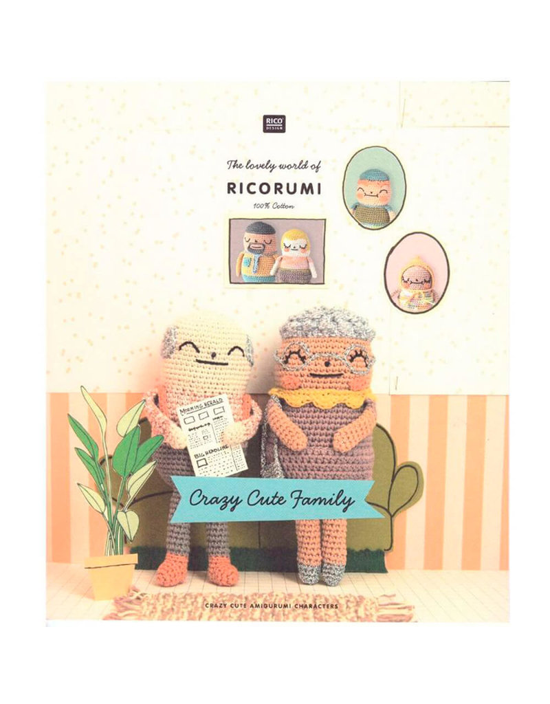 Rico Design RD BooK - Rumi Crazy Cute Family