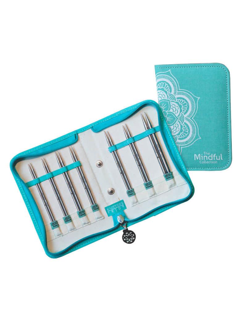 "Knitters Pride KP Mindful IC Needle Set 5"" BELIEVE - Set of 7   250303"