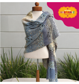 Lion Brand Magic Carpet Shawl, Crochet
