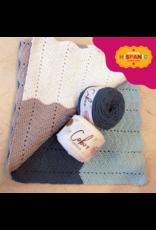 Lion Brand Happy Baby Ripple Afghan, Crochet