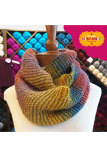 Lion Brand Cowl with a Twist, Knit