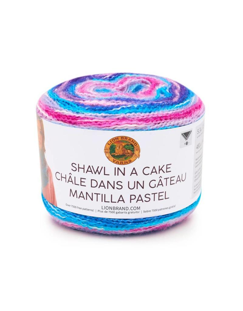 Lion Brand LB Shawl In A Cake