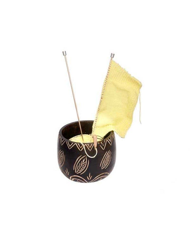 Knitters Pride KP Yarn Bowl - Leafy 800377