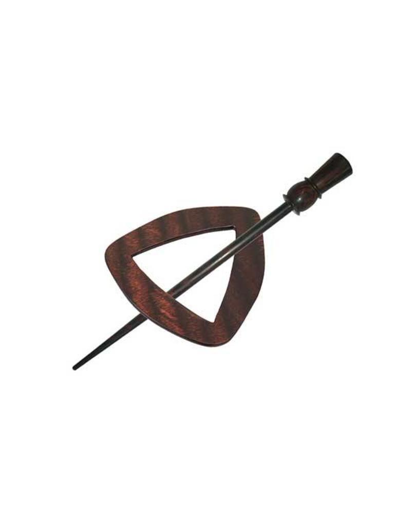 Knitters Pride KP Rose Shawl Pin (Symfonie Wood)