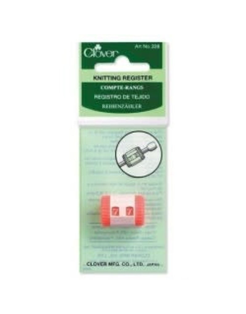 Clover CLO Knit Register CL328