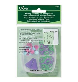 Clover CLO Knitting Accs Set Beginners