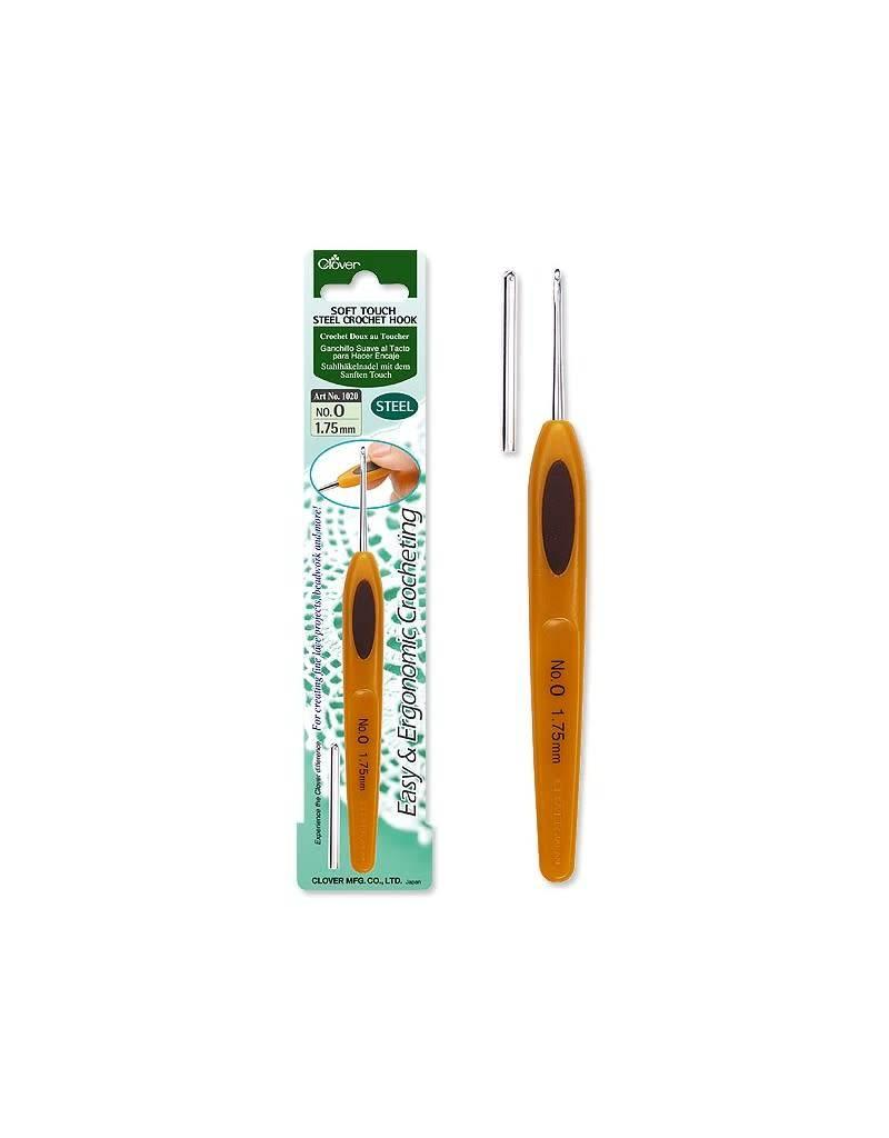 Clover CLO Soft Touch Crochet Hook