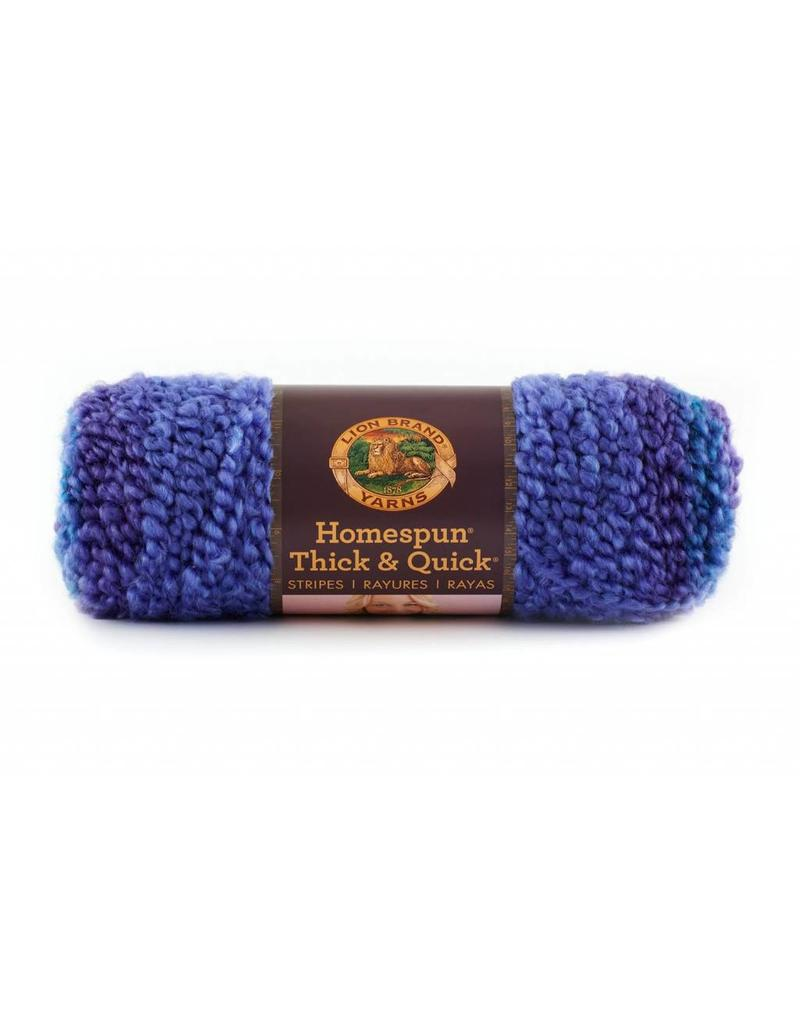 Lion Brand LB Homespun Thick And Quick- Stripes