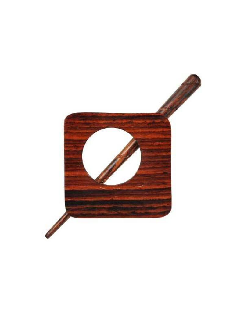 Knitters Pride KP Exotica Shawl Pin (Wood/Horn)