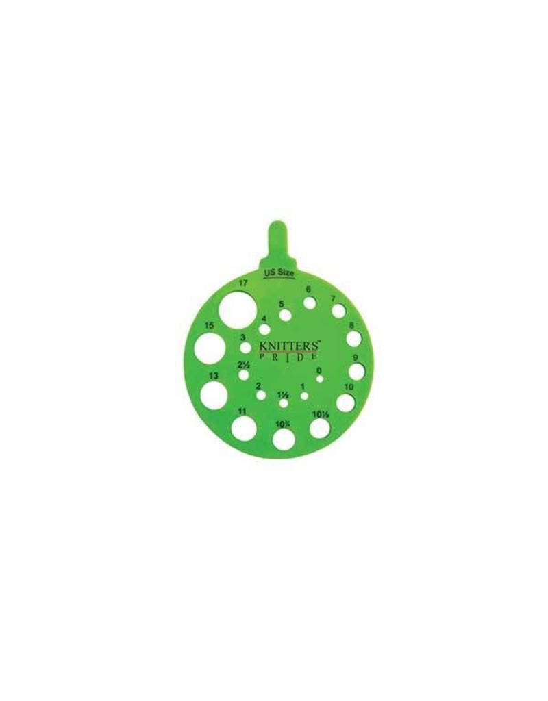 Knitters Pride KP Needle Gauge - Round - Envy 800222