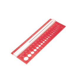 Knitters Pride KP Needle Gauge - Rectangle 800109