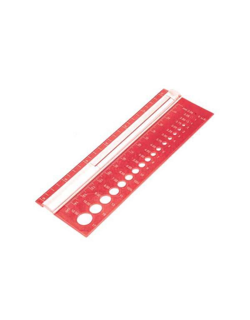 Knitters Pride KP Needle Gauge - Rectangle 800109