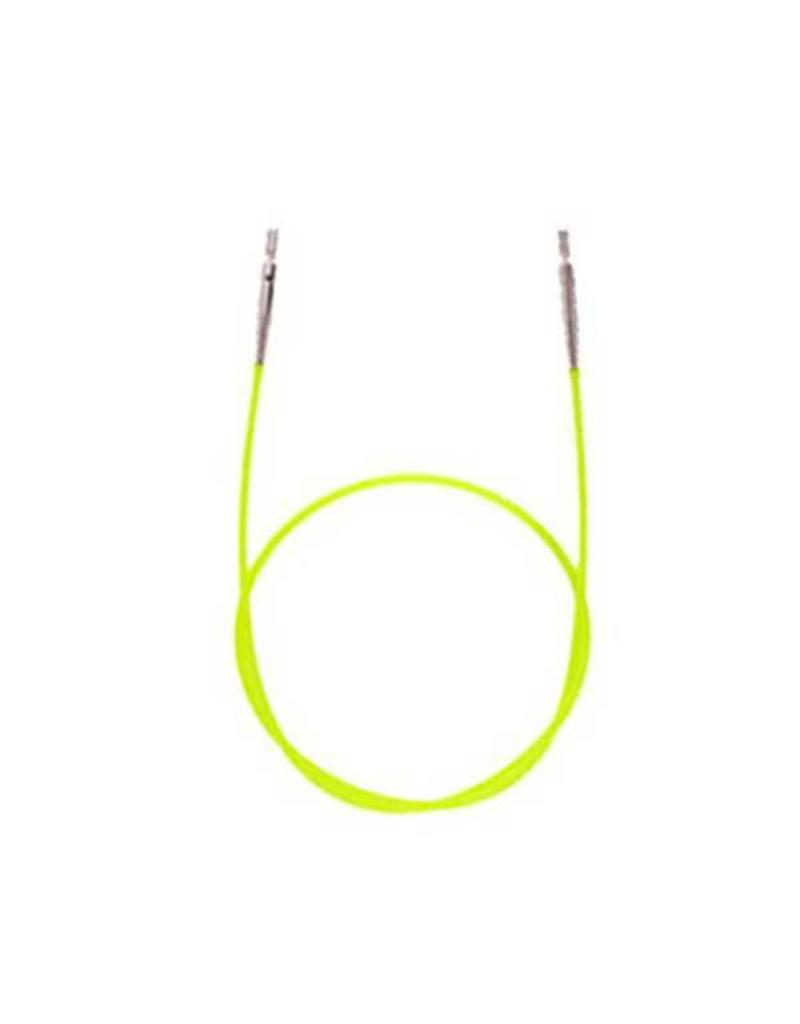 "Knitters Pride KP Neon Green cord - 14"" (35 cm to make 60 cm/ 24"")"