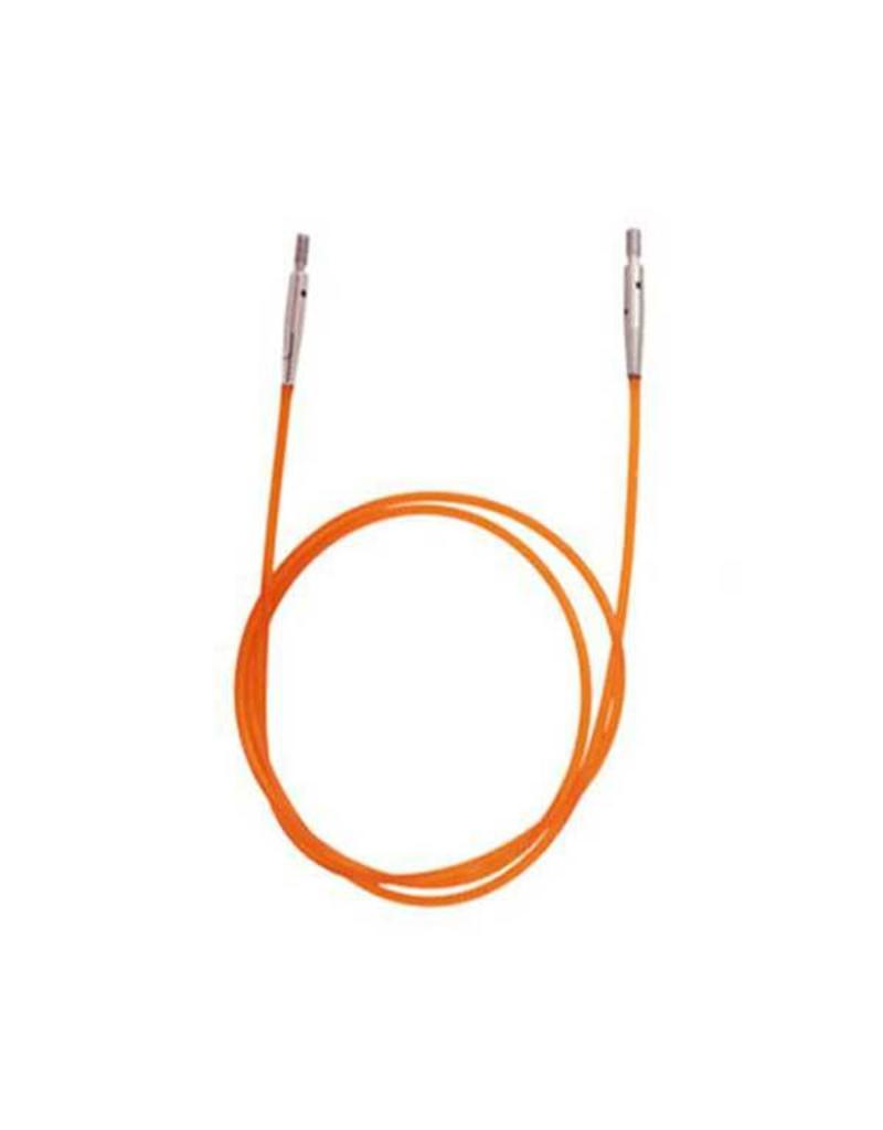 "Knitters Pride KP Orange cord - 22"" (56 cm to make 80 cm/ 32"")"