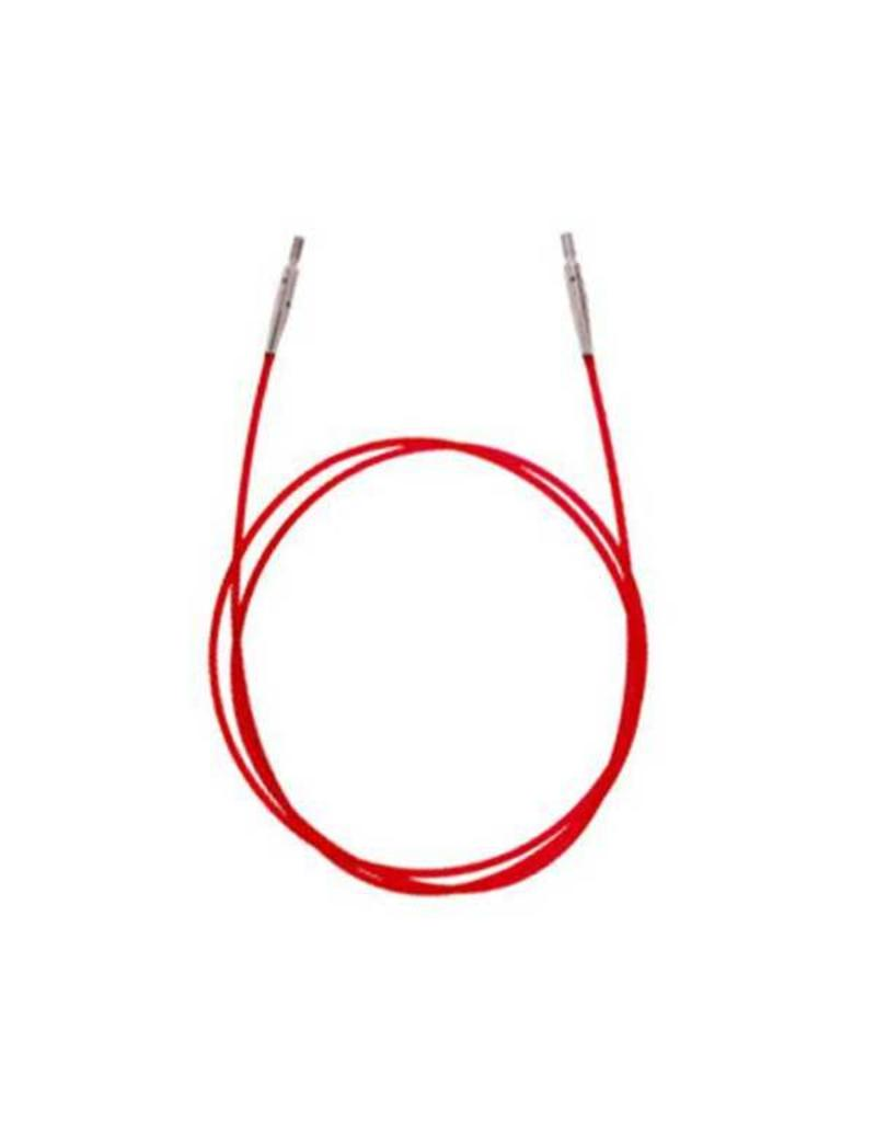 "Knitters Pride KP Red cord - 30"" (76 cm to make 100 cm/ 40"") 800505"
