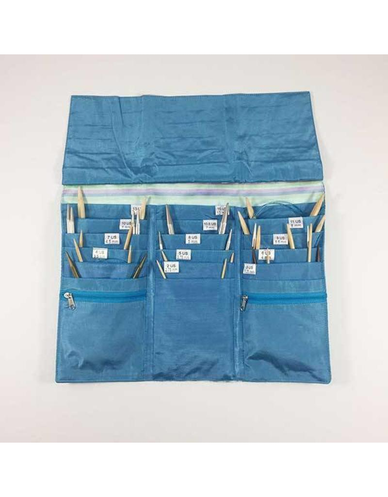 Della Q Bags DQ Della-Q  Tri-Fold Circular Needle Case - Free Shipping