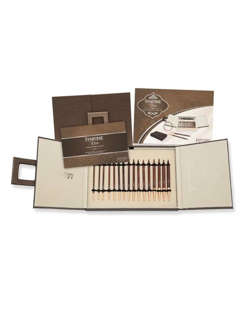 Knitters Pride KP Rose IC Needle Deluxe Set in Faux Leather Box