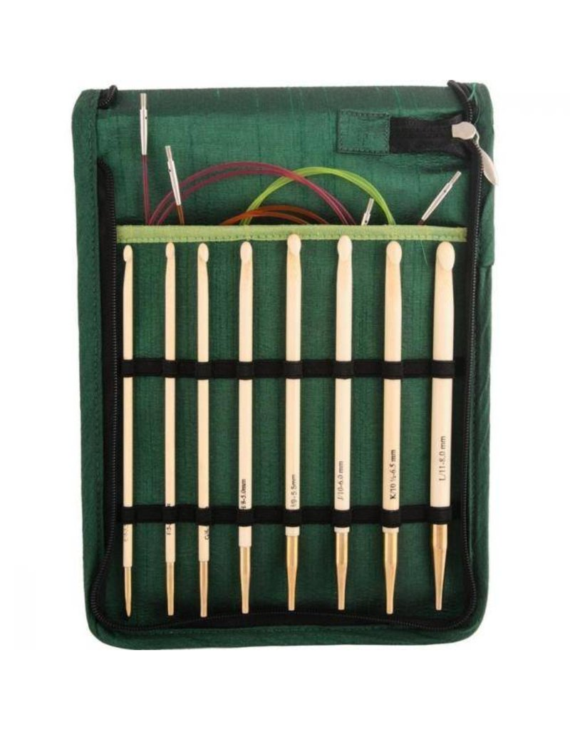 Knitters Pride KP Bamboo Tunisian Single End - Set of 8 (900586)