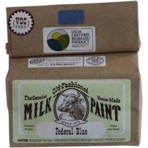 Old-Fashioned Milk Paint Milk Paint Federal Blue