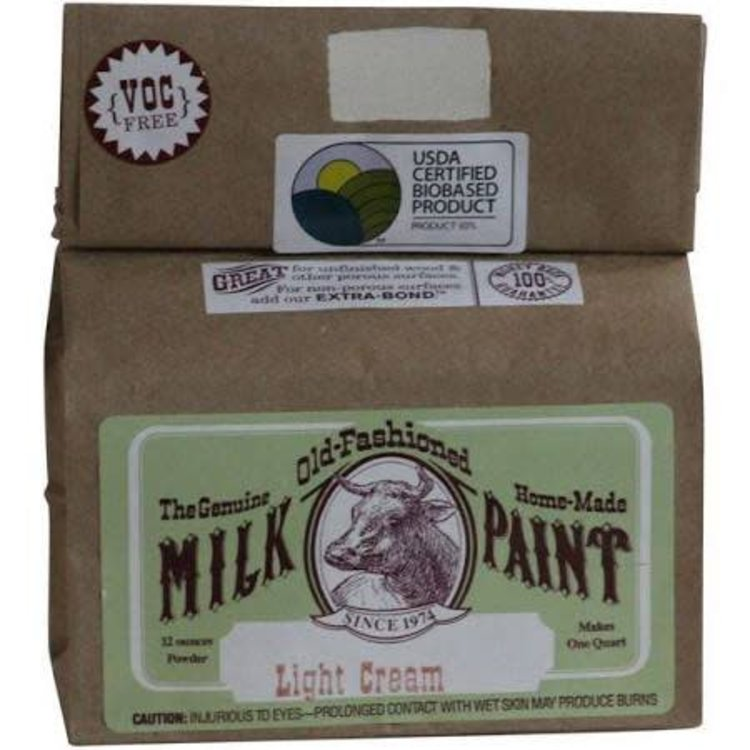 Old-Fashioned Milk Paint Milk Paint Light Cream