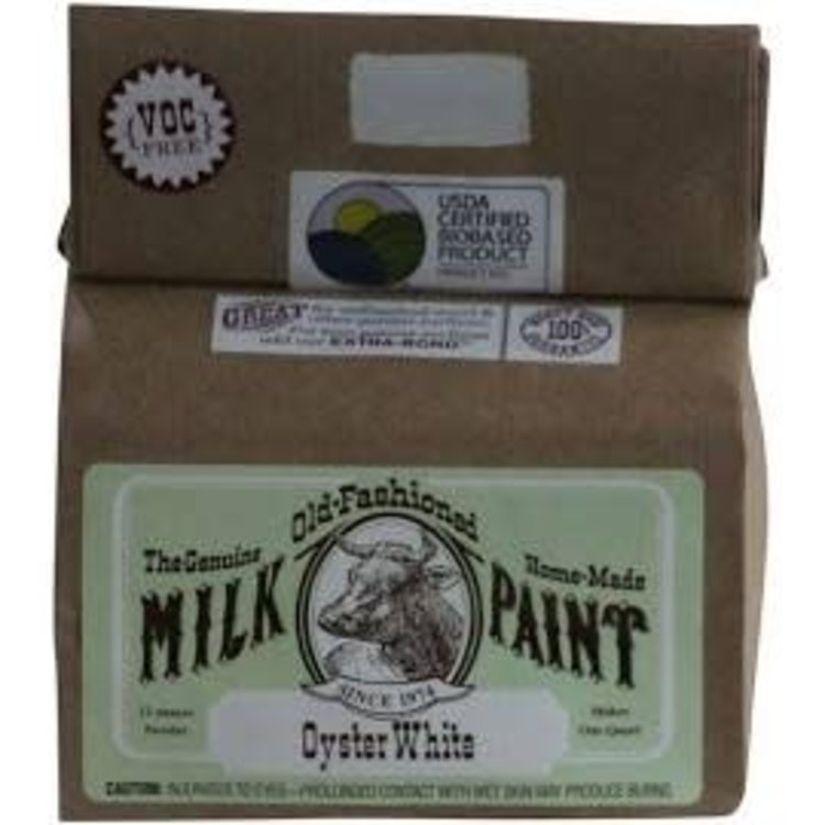 Old-Fashioned Milk Paint Milk Paint Oyster White