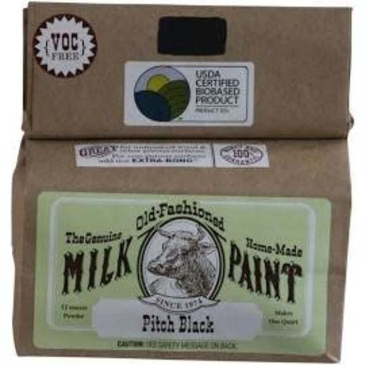 Old-Fashioned Milk Paint Milk Paint Pitch Black