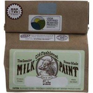 Old-Fashioned Milk Paint Milk Paint Slate