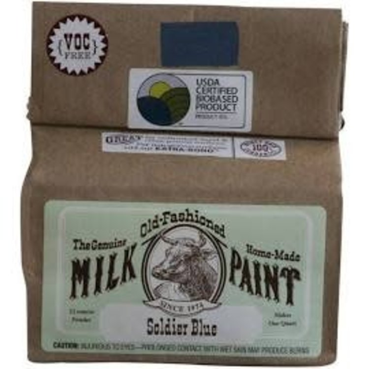 Old-Fashioned Milk Paint Milk Paint Soldier Blue