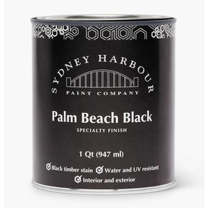 Sydney Harbour Palm Beach Black