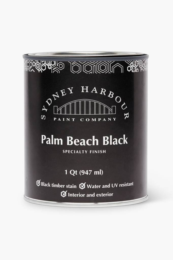 Sydney Harbour Palm Beach Black