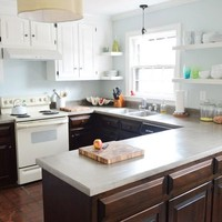 Sealing Concrete Countertops with Acrylacq